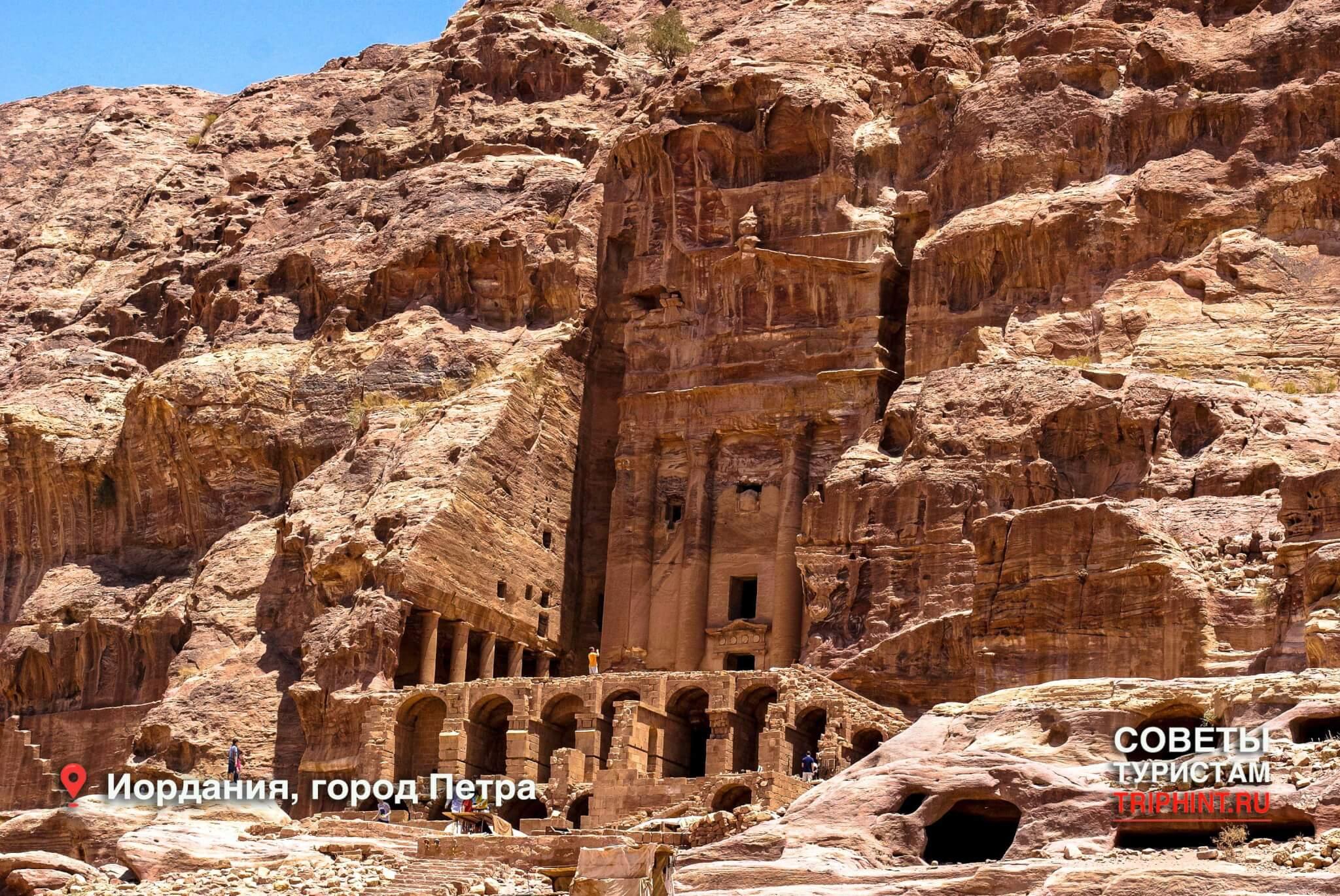 Что посетить в Иордании? Древний, вырезанный в камне, город Петра