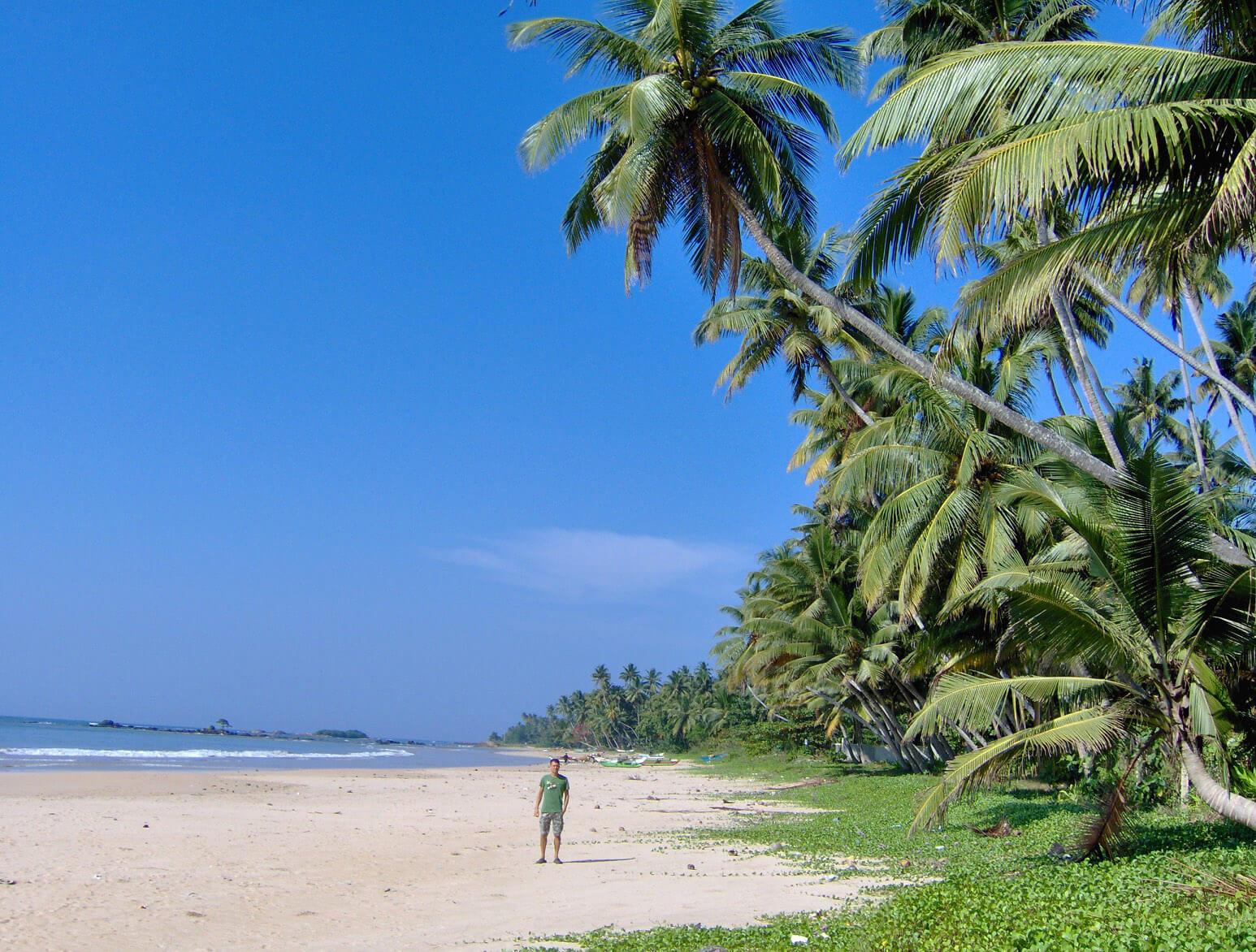 Катара пляж на Шри-Ланке