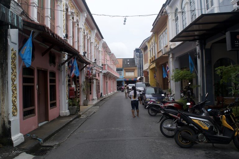 Таиланд, город Пхукет, улица Сои Романи.