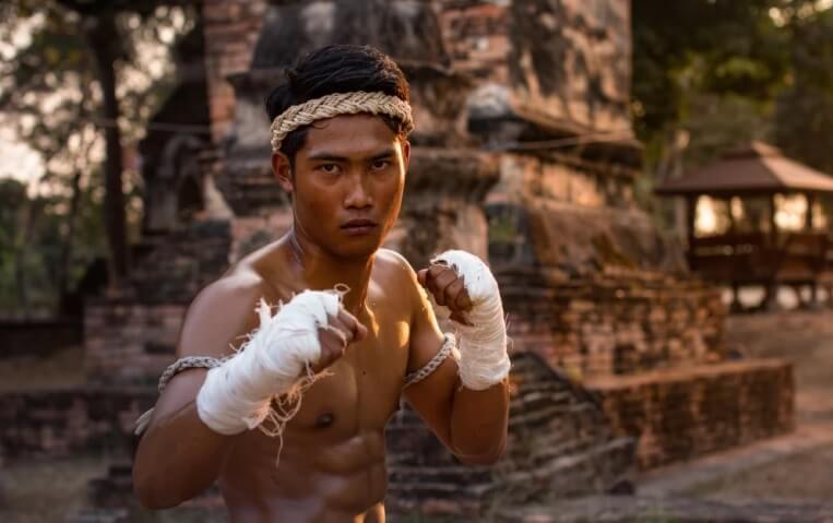 Таиланд, борец Муай Тай.