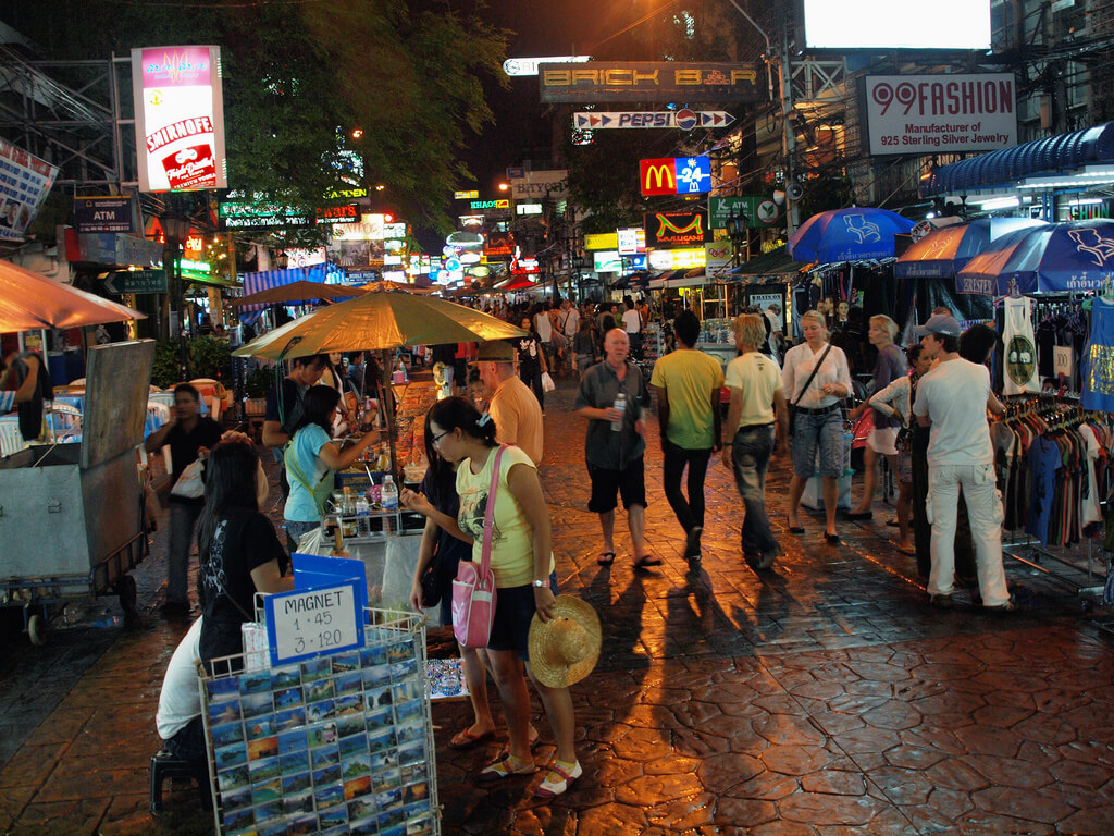 Таиланд, ночной рынок.