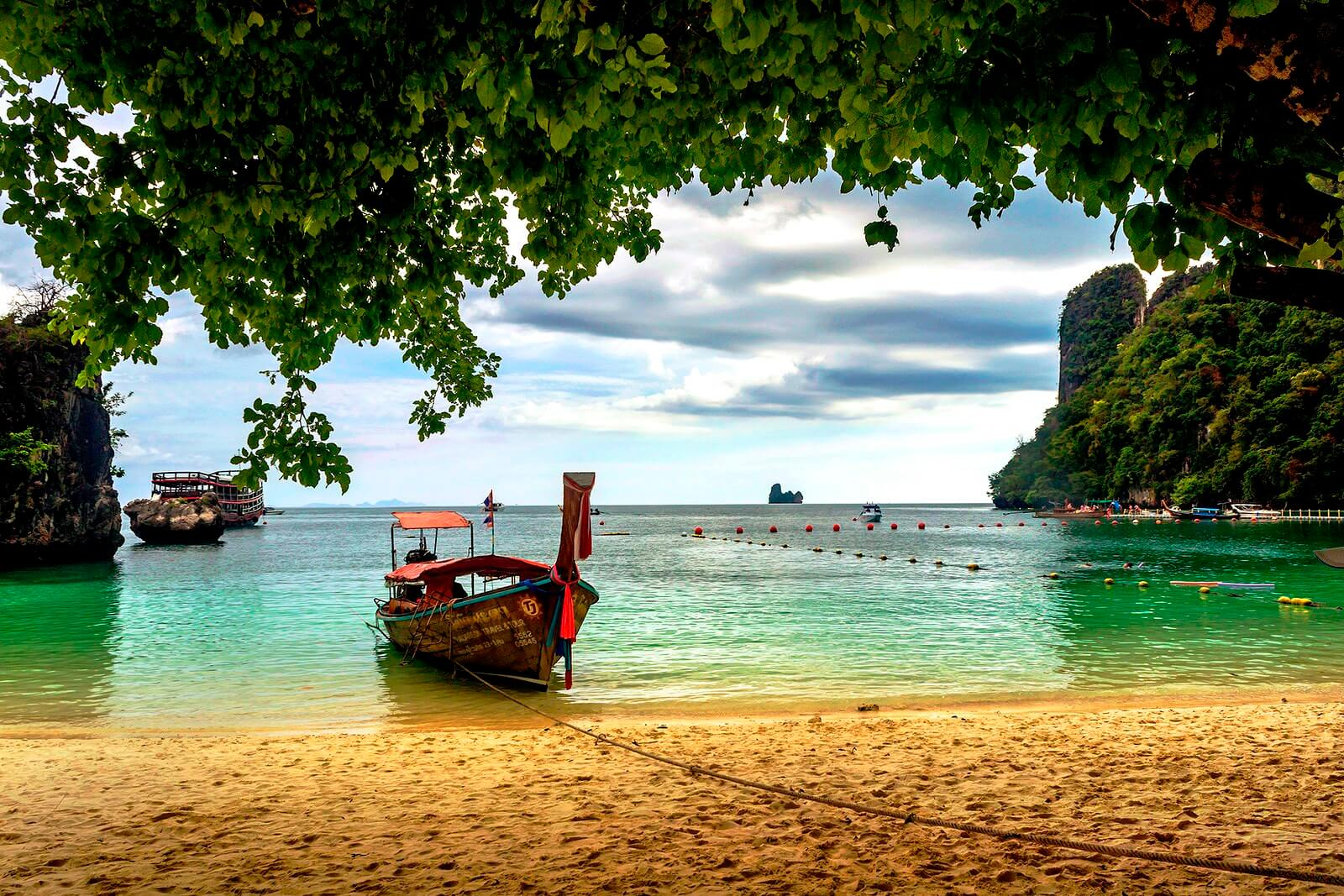 Пляж Таиланда.