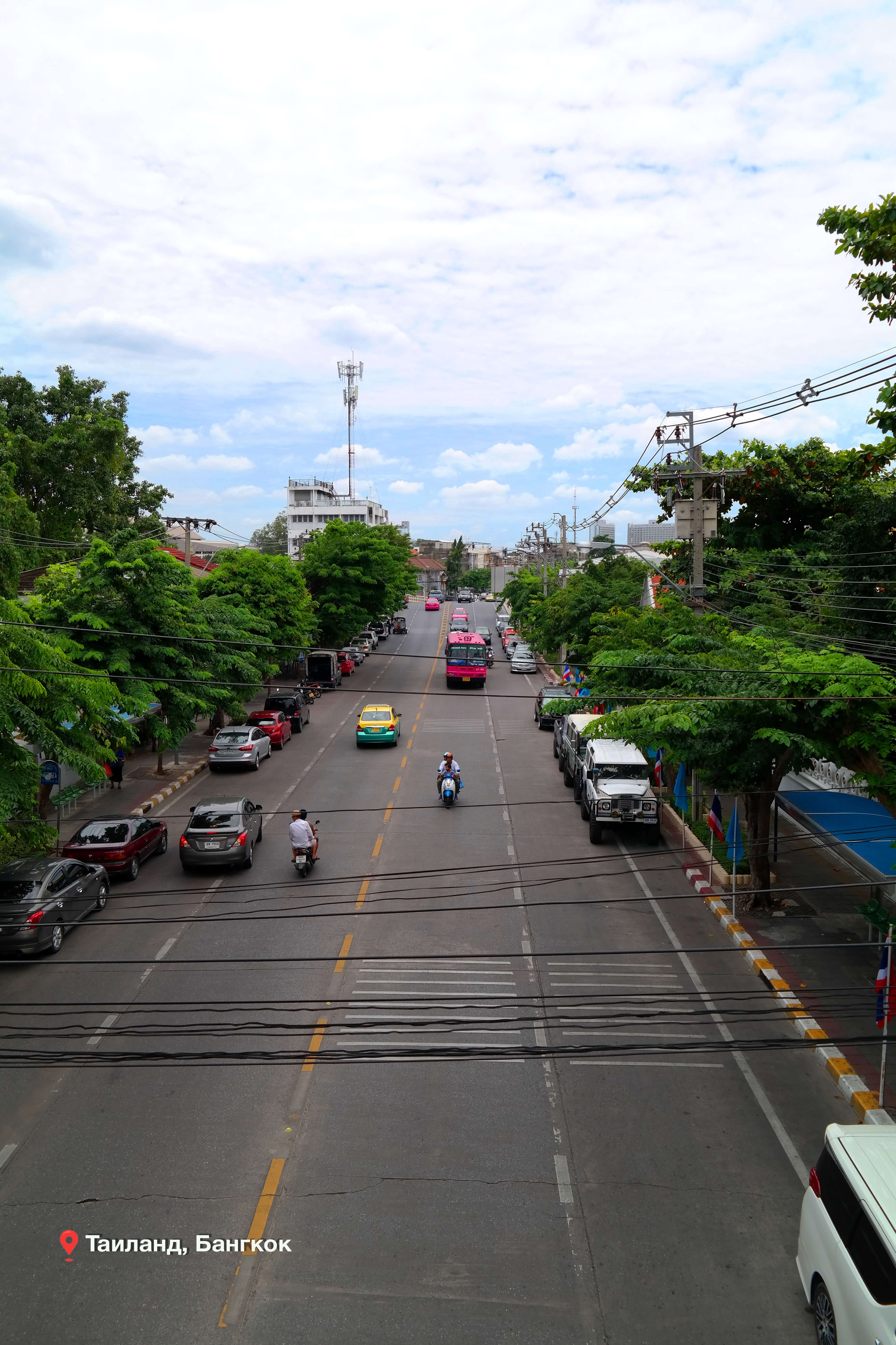 Транспорт в Таиланде, улица Бангкока.
